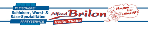 Fleischerei & Partyservice Alfred Brilon - Logo