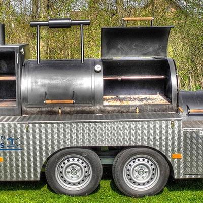 BBQ Smoker Grill zum mieten